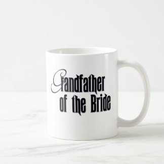 Elegant Grandfather of the Bride Coffee Mug