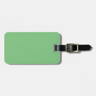 Elegant Grass Green - Fashion Color Trending Luggage Tag