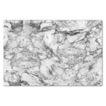 Elegant gray white modern marble texture patterns tissue paper