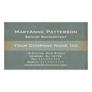 Elegant Green and Gold Natural Textures Gradient Double-Sided Standard Business Cards (Pack Of 100)