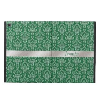 Elegant Green and Silver iPad Air 2 Case