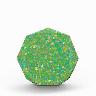 Elegant Green Confetti TEMPLATE Add text image fun Award
