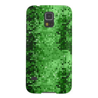 Elegant Green DiscoBall Glitter & Sparkles Case For Galaxy S5