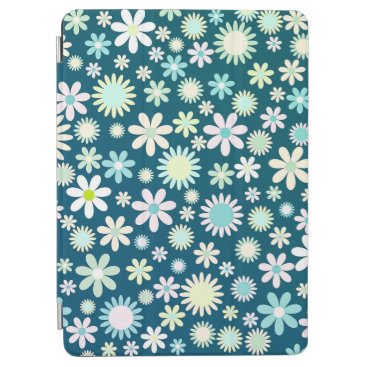 Elegant Green Floral Ditsy Pattern   iPad Air Case