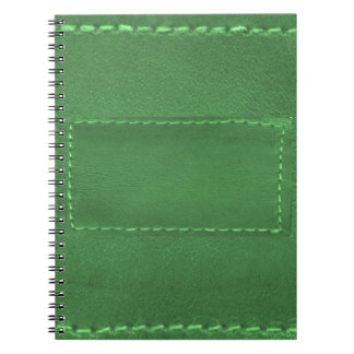 Elegant Green : Leather Look Artistic Gifts Notebooks