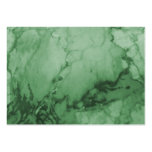 Elegant Green Marble Business Cards