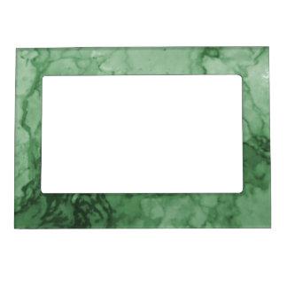 Elegant Green Marbleized Photo Frame