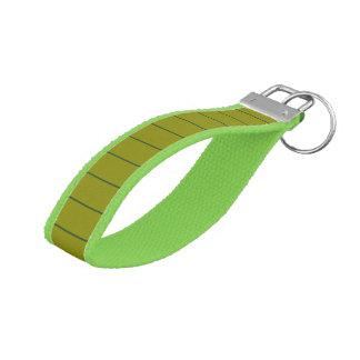Elegant Green Steps KeyChain match dress colors