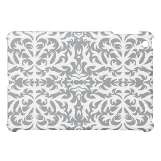 Elegant Grey Damask Speck Case iPad Mini Cases