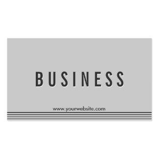 Elegant Grey Political Scientist Business Card