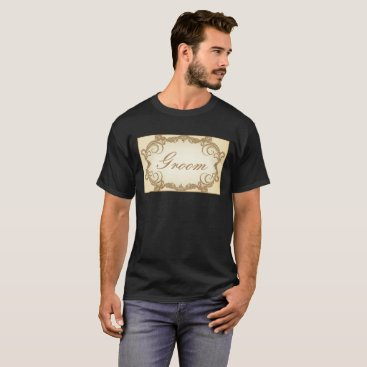 malhcreations Elegant Groom T-Shirt