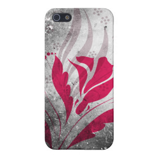Elegant Grunge Abstract Design iPhone SE/5/5s Cover