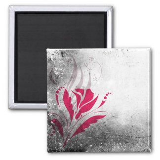 Elegant Grunge Abstract Design Magnet