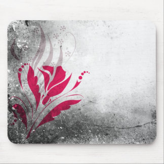 Elegant Grunge Abstract Design Mouse Pad