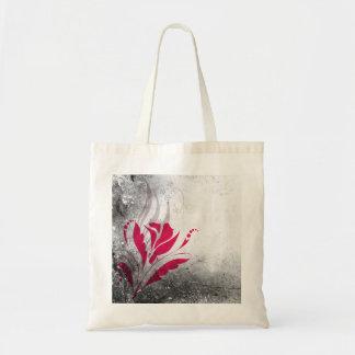 Elegant Grunge Abstract Design Tote Bag