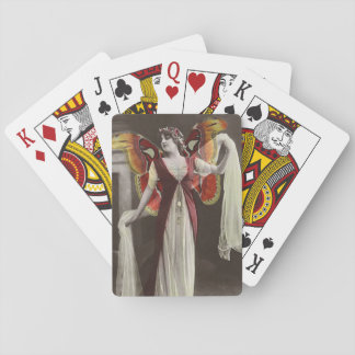 Elegant Gypsy Faries Altered Vintage Photo Playing Cards
