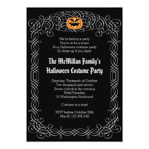 masquerade invitation template