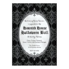 Elegant Halloween Invitation