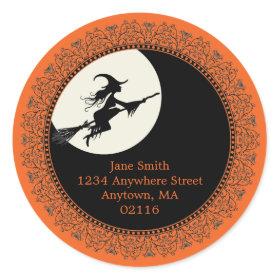 Elegant Halloween Stickers