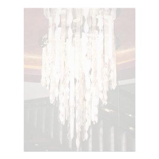 """Elegant Hanging Chandelier 8.5"""" X 11"""" Flyer"""