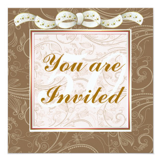 Elegant Happy 50th Birthday Template Invitations  Birthday Template Invitations