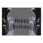 Elegant Happy Birthday Greeting Cards