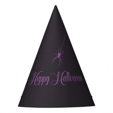 Halloween Themed Elegant Happy Halloween Paper Hat