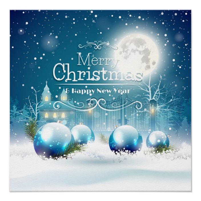 elegant happy new year merry white christmas poster zazzle com elegant happy new year merry white christmas poster zazzle com