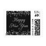 Elegant Happy New Year Stamp