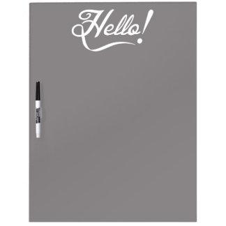 Elegant Hello Dry-Erase Board
