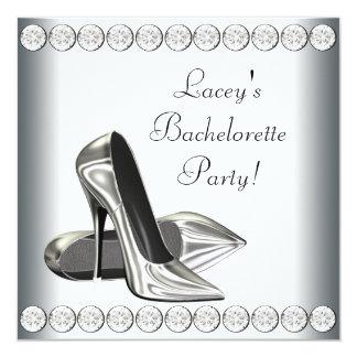 Elegant High Heels Bachelorette Party 5.25x5.25 Square Paper Invitation Card