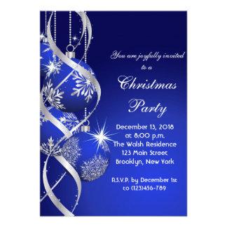 Elegant Holiday Christmas Party Invitation