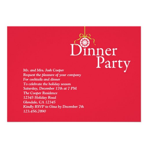 Invitation Pay For Your Own Meal Askcom Party | Party ...