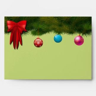 Elegant Holidays Decor Envelope