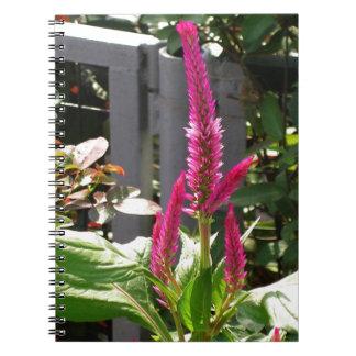 Elegant Home Garden Flower TEMPLATE Resellers FUN Spiral Note Books