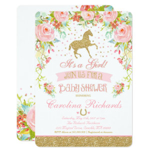 Elegant Baby Shower Invitations Announcements Zazzle