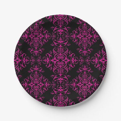 damask paper plates Premium tableware for your formal dinner or holiday paper, plastic plates table covers or are printed with classic ornamental patterns like damask and.
