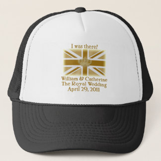 Elegant I WAS THERE Royal Wedding T shirt Trucker Hat