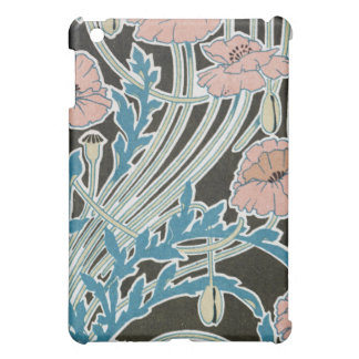 elegant icelandic poppies art nouveau design iPad mini case