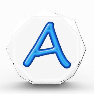 Elegant ID Identification Letters Alphabets Award