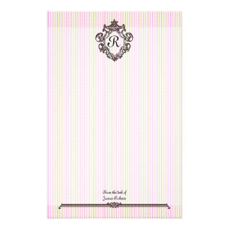 Elegant in Pink Stationary Stationery Paper