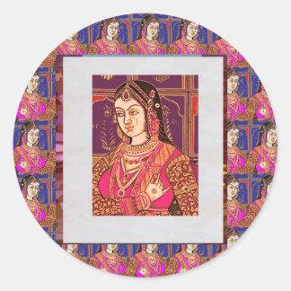 Elegant Indian Bride Costumes : Enjoy n Share Joy Sticker