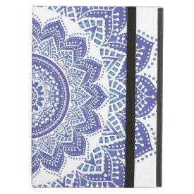 Elegant Indian Ornamental Vintage Design Purple iPad Cover