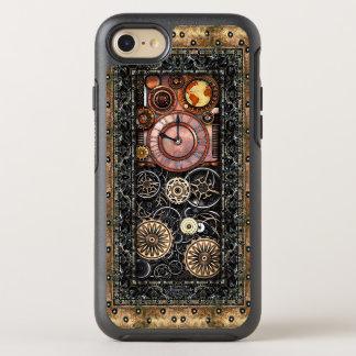 Elegant Infernal Steampunk Timepiece Vintage Style OtterBox Symmetry iPhone 7 Case