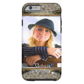 Elegant Insert Your Own Photo Tough iPhone 6 Case