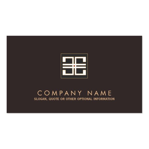 greek key interior designer double sided standard business cards