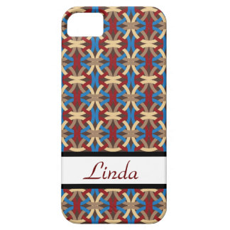 Elegant Intertwined Circles Pattern Gifts iPhone 5 Cover