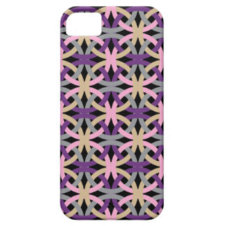 Elegant Intertwined Circles Pattern Phone Case iPhone 5 Cover
