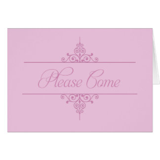 Elegant Invitation - FIONA collection Stationery Note Card