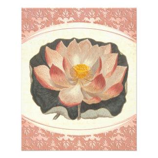 "Elegant Invitation Garden Flower Show or Bazaar 4.5"" X 5.6"" Flyer"